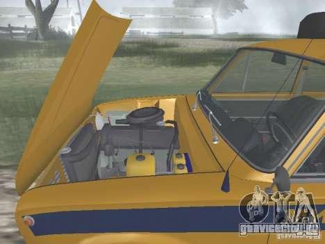 ВАЗ 21016 ГАИ для GTA San Andreas вид изнутри
