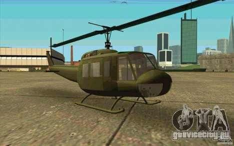 UH-1D Slick для GTA San Andreas вид слева