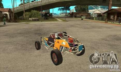 Dirt 3 Stadium Buggy для GTA San Andreas вид сзади слева
