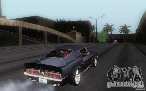 Shelby GT500KR для GTA San Andreas вид справа