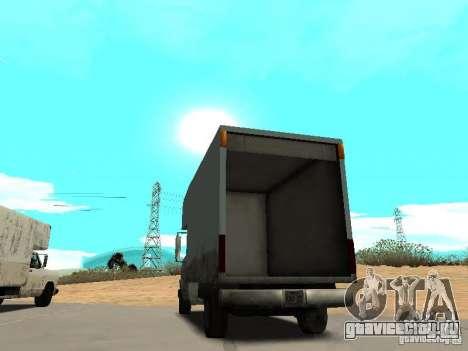 New Mule для GTA San Andreas вид сзади слева