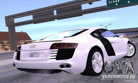 Audi R8 4.2 FSI для GTA San Andreas вид слева