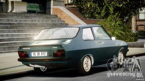 Dacia 1310 Sport v1.3 для GTA 4 вид сзади слева