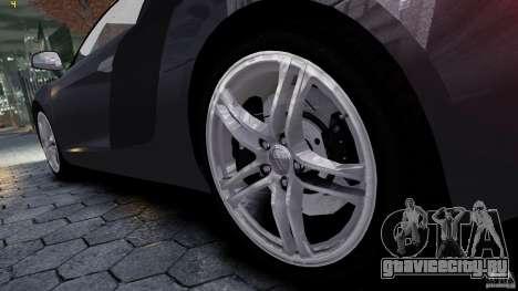 AUDI R8 для GTA 4 вид справа