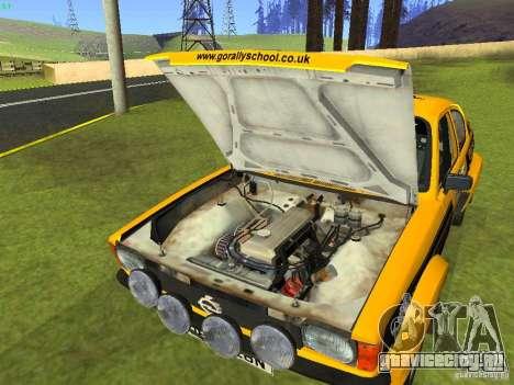 Opel Kadett для GTA San Andreas вид сбоку