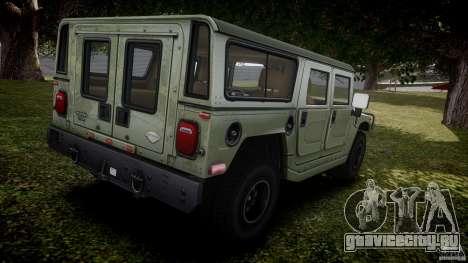 Hummer H1 Original для GTA 4 вид сверху