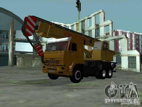 КамАЗ 65117 Ивановец для GTA San Andreas вид слева