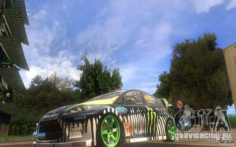 Ford Fiesta Gymkhana для GTA San Andreas вид слева