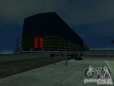 Русский Прицеп для КамАЗа для GTA San Andreas вид слева