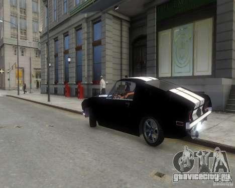 Ford Mustang Tokyo Drift для GTA 4 вид справа