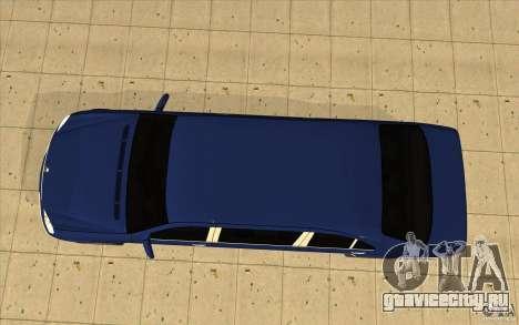 Mercedes-Benz S600 Pullman W220 для GTA San Andreas вид справа