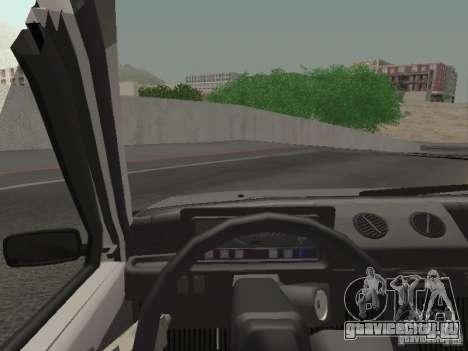 ВАЗ 1111 Ока Белка для GTA San Andreas вид сзади слева