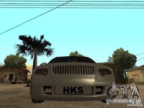 Skoda Octavia Custom Tuning для GTA San Andreas вид справа