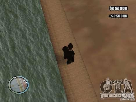 New GTA IV HUD 1 для GTA San Andreas