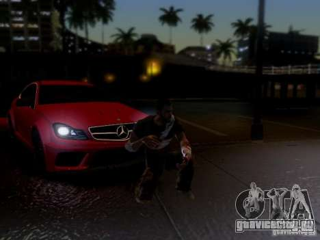 Mercedes Benz C63 AMG C204 Black Series V1.0 для GTA San Andreas вид сбоку