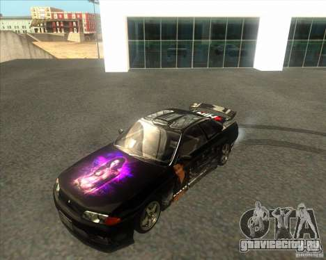 Nissan Skyline R32 GTS-T type-M для GTA San Andreas вид сзади