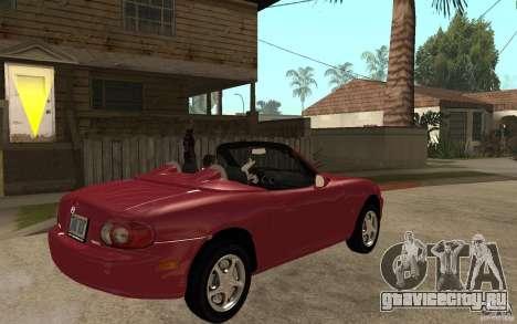Mazda MX5 - Stock для GTA San Andreas вид справа