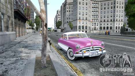 Hudson Hornet Coupe 1952 для GTA 4 вид сзади слева