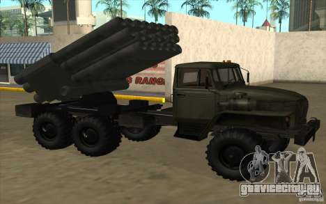 Урал 4320 Град v2 для GTA San Andreas