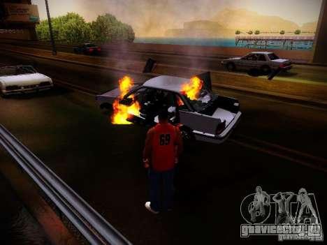 Новые эффекты для GTA San Andreas восьмой скриншот