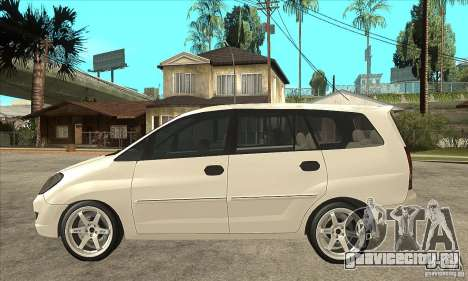Toyota Innova Lowrider Rims 2 для GTA San Andreas вид слева