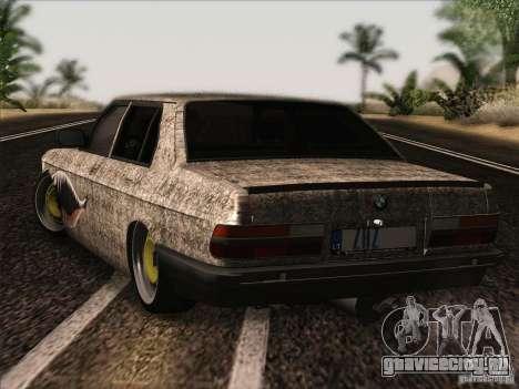 BMW E28 525E RatStyle для GTA San Andreas вид справа