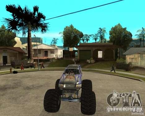 Bounty Hunter для GTA San Andreas вид сзади