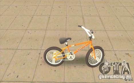 K2B Ghetto BMX для GTA San Andreas вид слева