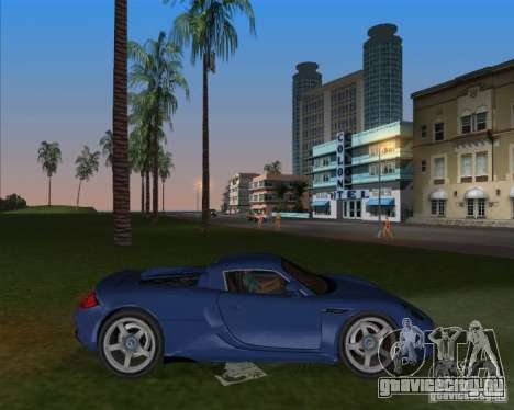 Porsche Carrera GT для GTA Vice City вид слева