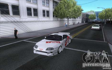 Toyota Supra RZ 1996 для GTA San Andreas вид сзади