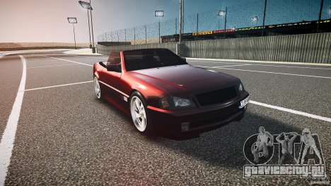Mercedes Benz SL500 Custom для GTA 4 вид сзади