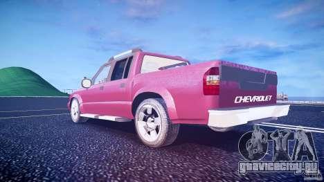 Chevrolet S10 для GTA 4 вид снизу