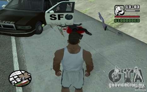 Метание лопаты для GTA San Andreas второй скриншот