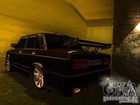 ВАЗ 2107 X-Style для GTA San Andreas вид слева