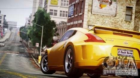 Nissan 370Z Final для GTA 4 вид сзади слева