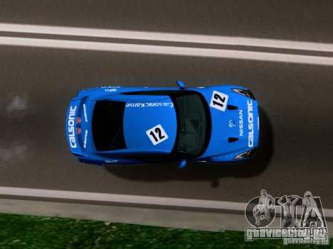 Nissan GTR 2010 Spec-V для GTA San Andreas вид справа