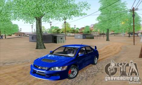 Mitsubishi Lancer Evolution 9 MR Edition для GTA San Andreas