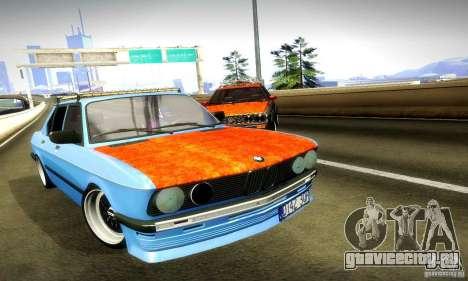 BMW E28 525е RatStyle Nr1 для GTA San Andreas вид сбоку