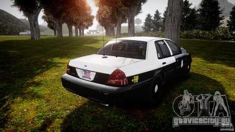 Ford Crown Victoria 2003 Florida CVPI [ELS] для GTA 4 вид сбоку