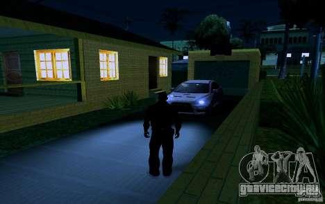 Новый дом Биг Смоука для GTA San Andreas двенадцатый скриншот