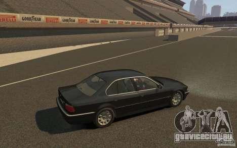BMW 750i (e38) v2.0 для GTA 4 вид справа