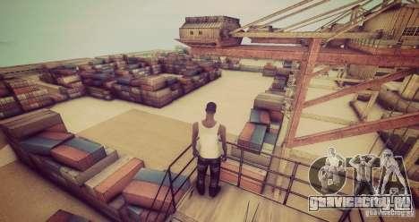 Tokyo Drift map для GTA San Andreas пятый скриншот