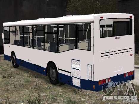 НефАЗ 5299-10-15 для GTA 4 вид сзади слева