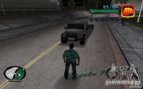 УАЗ 3159 для GTA Vice City вид сзади слева