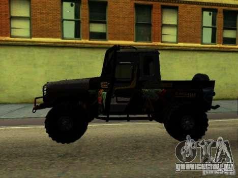 УАЗ 469 ТРИАЛ для GTA San Andreas вид слева