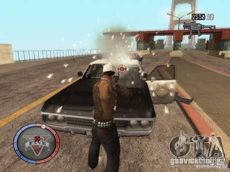 GTA 5 HUD для GTA San Andreas четвёртый скриншот