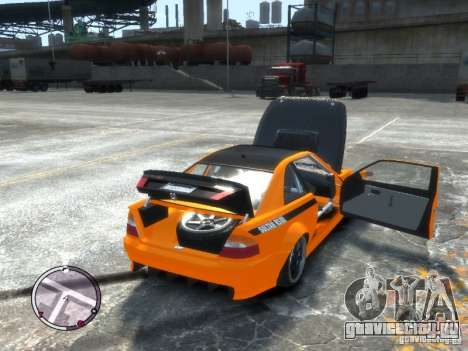 Sultan RS HD FreeStyle Team для GTA 4 вид сзади