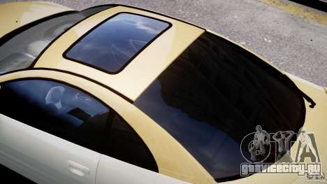 Mitsubishi Eclipse GTS Coupe для GTA 4 колёса