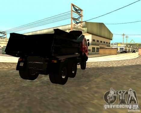 КамАЗ 55111 для GTA San Andreas вид справа