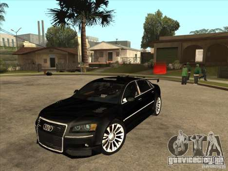 Audi A8 Tuned для GTA San Andreas